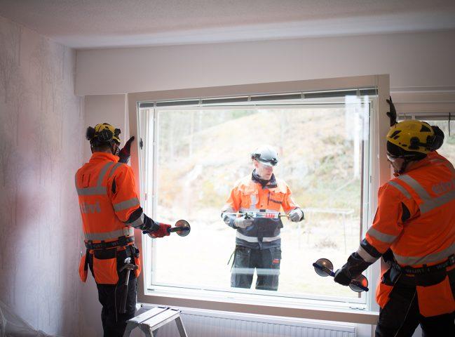 Tiivin ikkunaremontti on vaivaton tapa parantaa energiatehokkuutta ja asumismukavuutta.