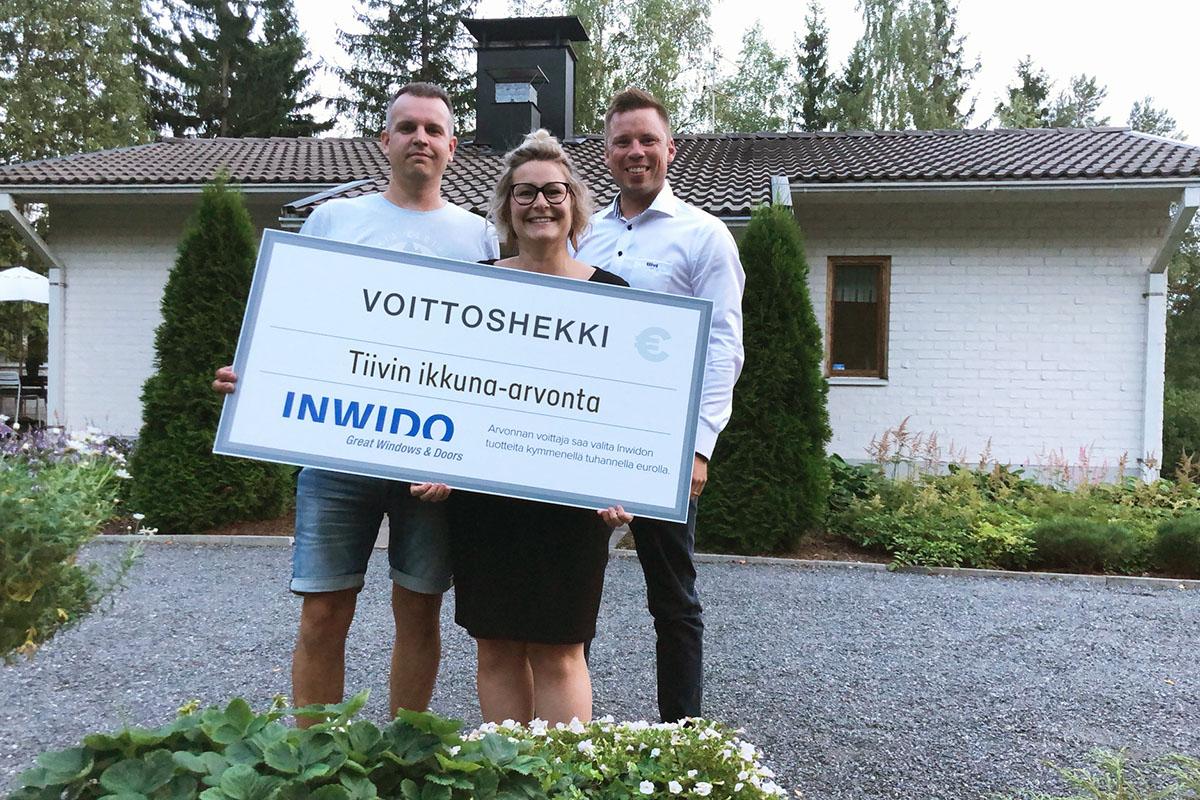 Tiivi ikkuna-arvonta voittaja 2018 asuntomessut Pori