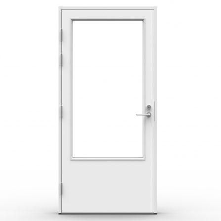 Tiivi Terassi Pii A3_terassinovi_takapihan ovi_valkoinen_keskilukolla
