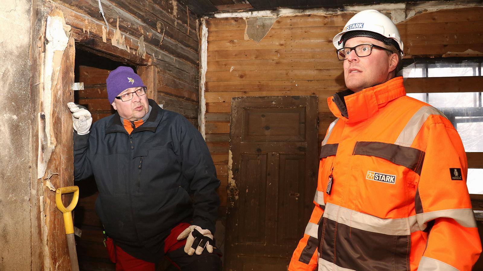Kai Turpeinen ja Jarkko Häkkinen