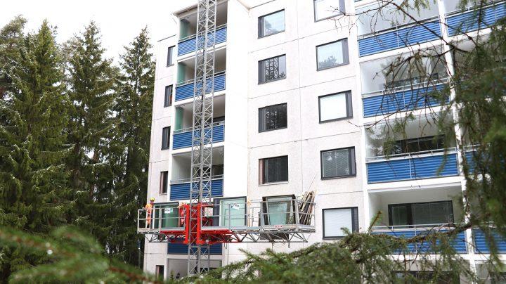 Vaatii tarkkaa suunnittelua suorittaa ikkunoiden vaihto taloyhtiössä.