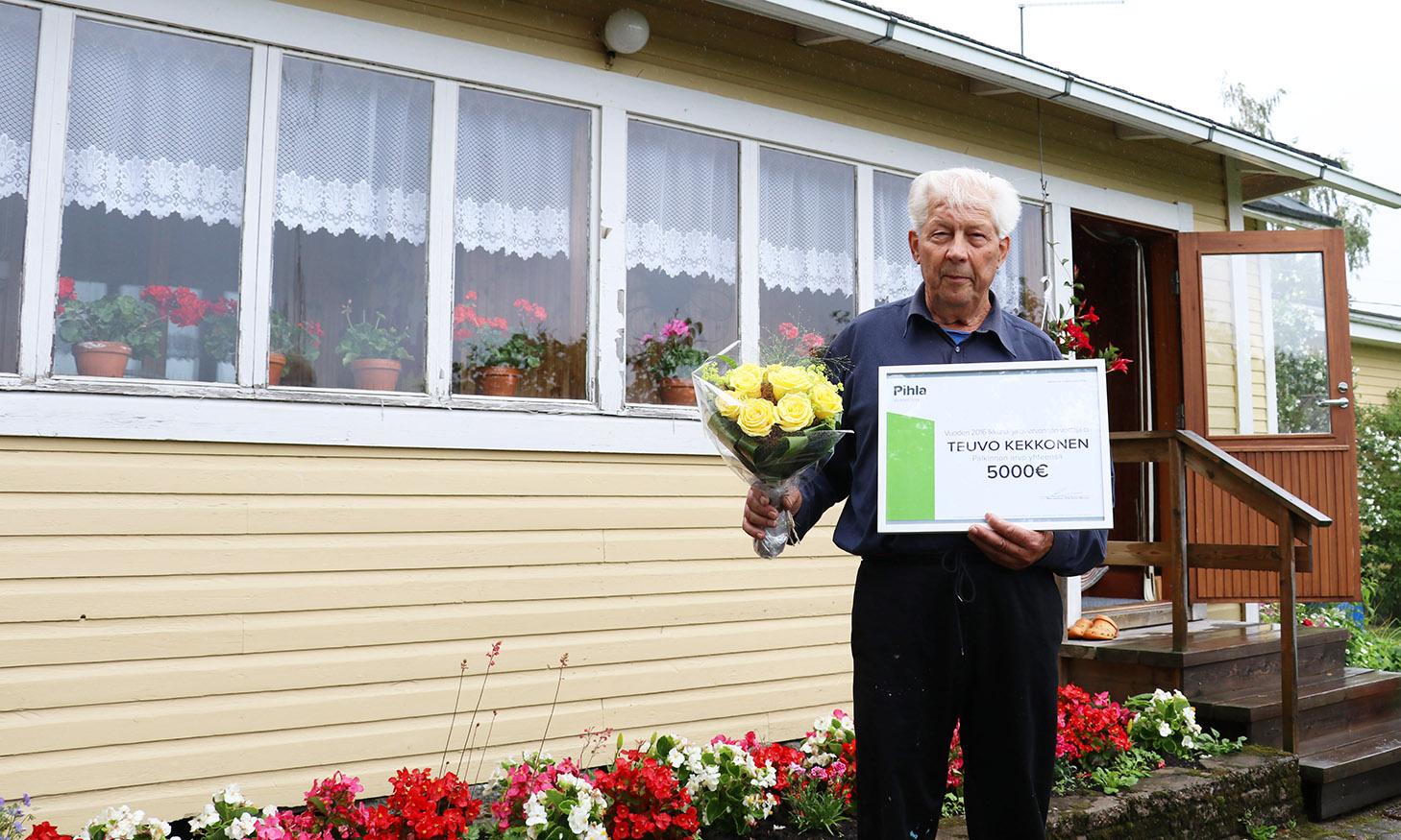 Teuvo Kekkonen arvonnan voittaja