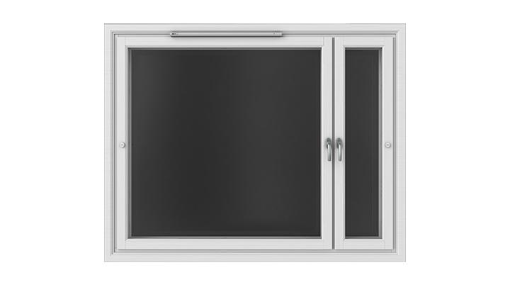 Tiivi Klassinen ikkuna on jykevä, energiatehokas ja siisti