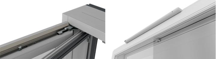 Kristalli-malliston piilosaranat kestävät jopa 150 kilon painon ja automaattinen tuloilmaventtiili sopii asuntoihin, joissa on koneellinen poistoilmajärjestelmä.
